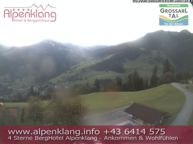 Webcam Hotel Alpenklang Grossarl