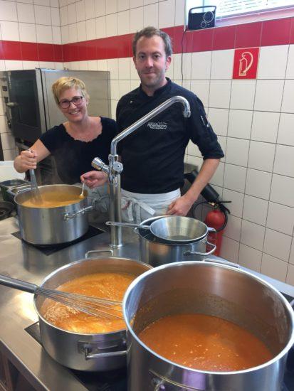 Marillen Marmelade Katrin und Roli