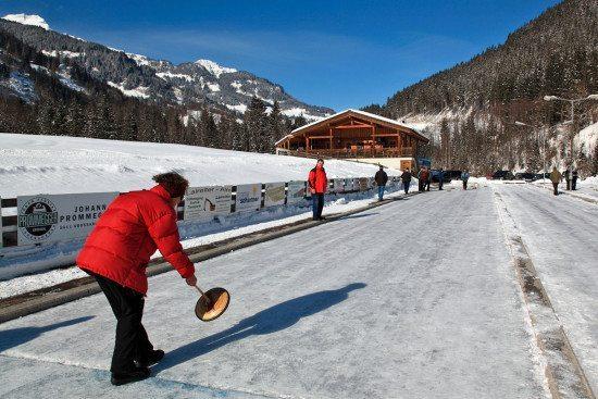 Eisstockschießen - Großarltal, Salzburger Land