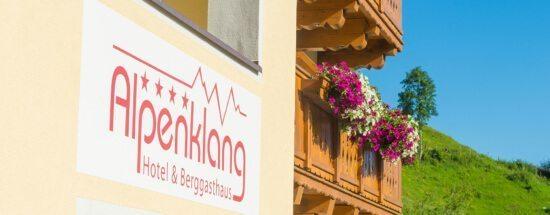 4 Sterne Hotel & Berggasthaus Alpenklang, Großarl, Salzburger Land