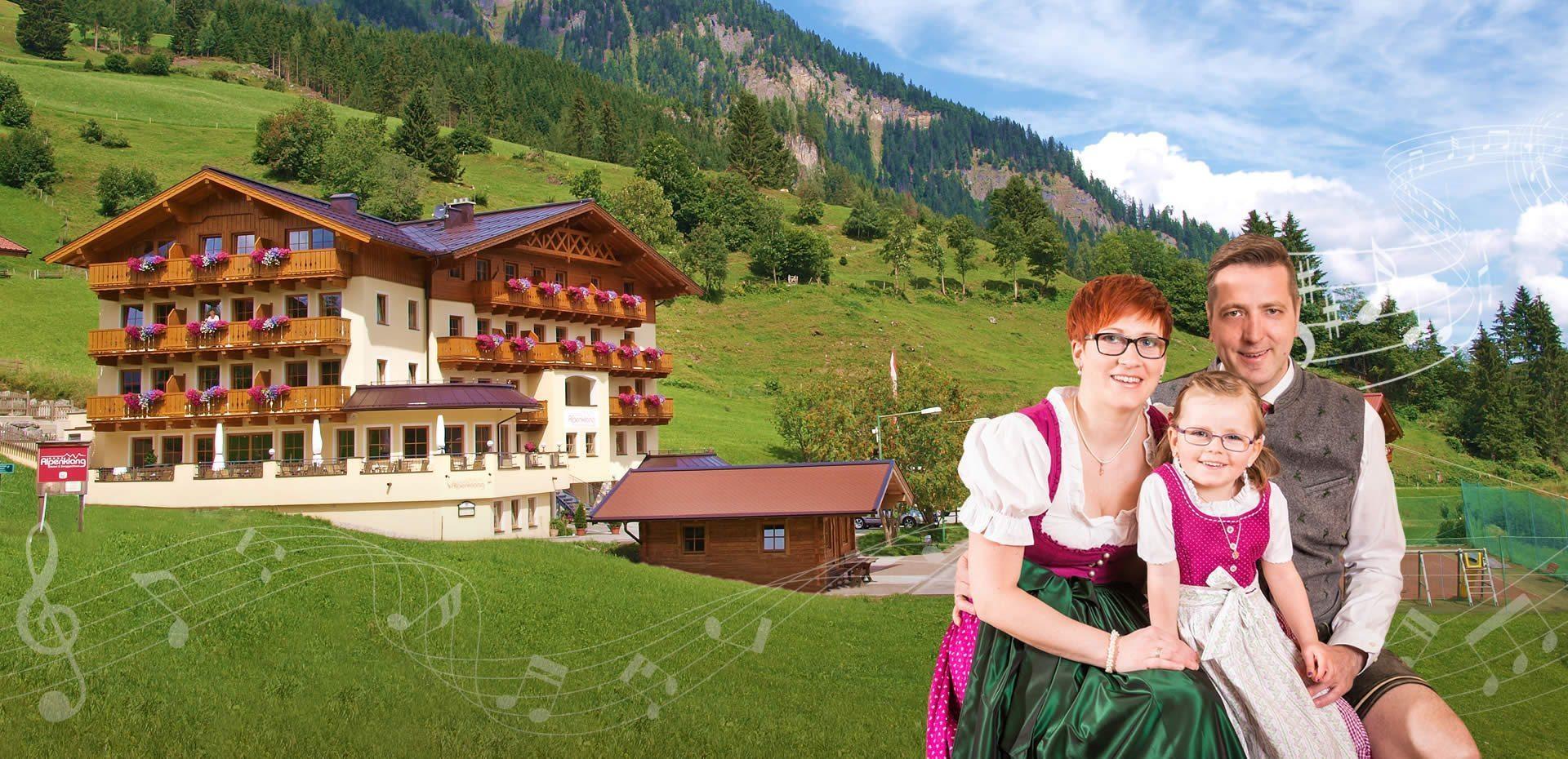 4 Sterne Hotel & Berggasthaus in Großarl, Salzburger Land