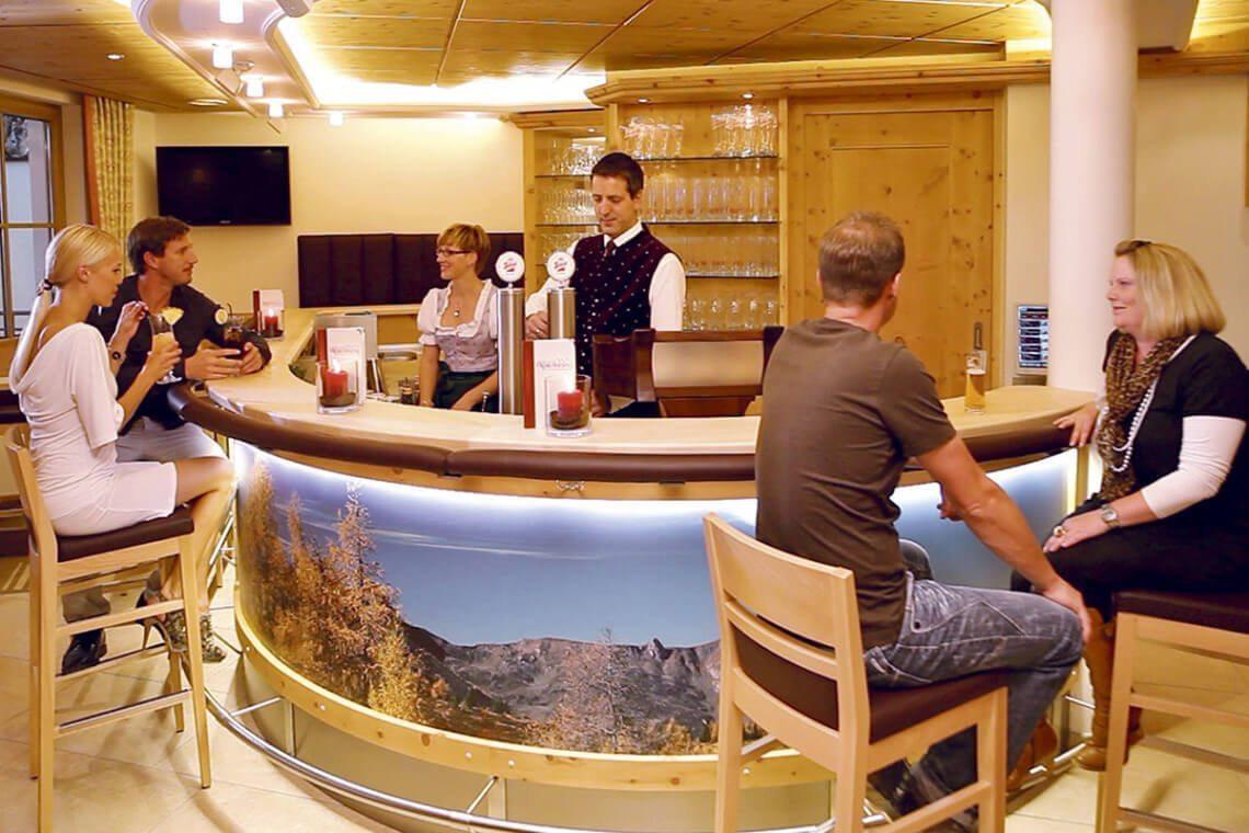 Hotelbar im 4 Sterne Hotel Alpenklang, Großarl