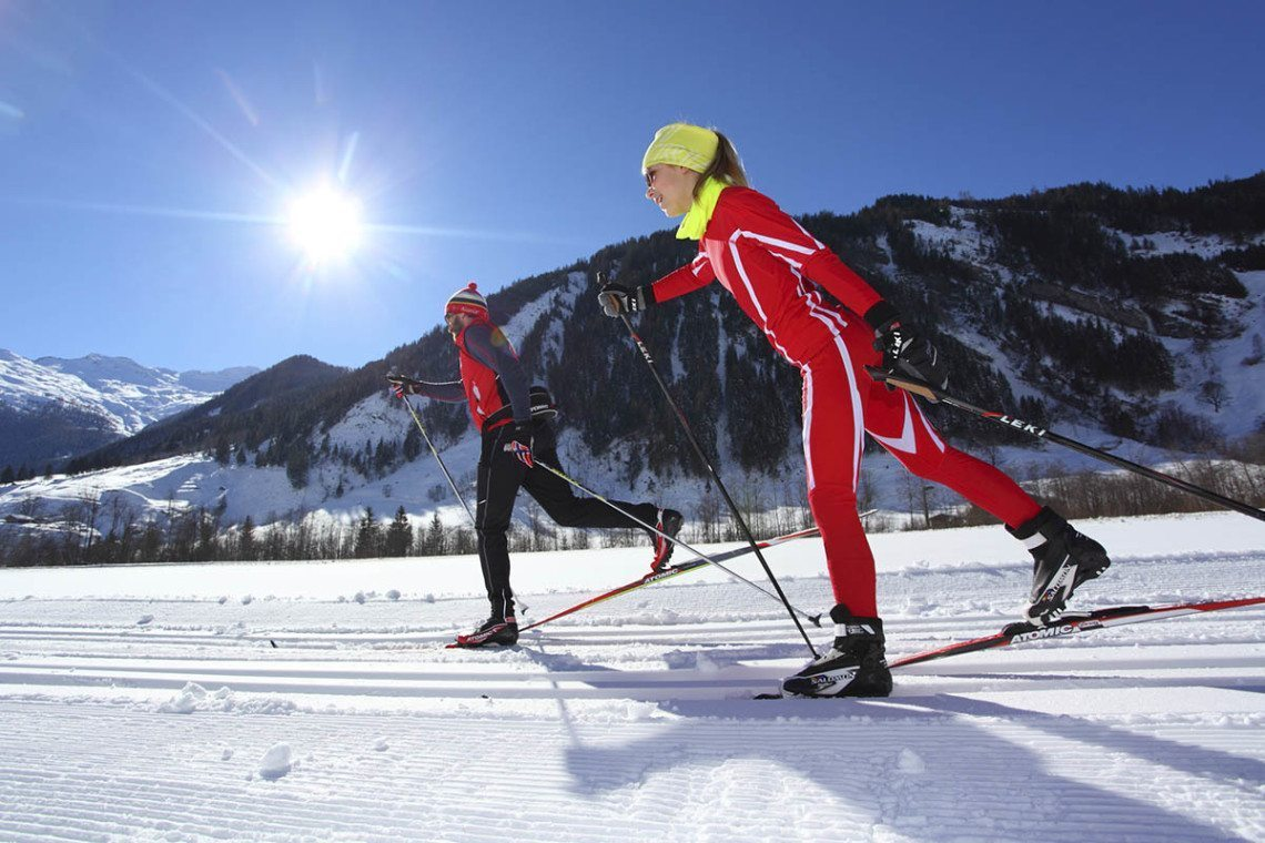 Langlaufen im Großarltal, Salzburger Land