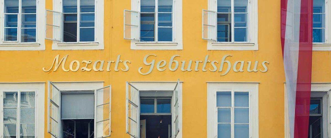 Ausflugsziele - Mozart Geburtshaus