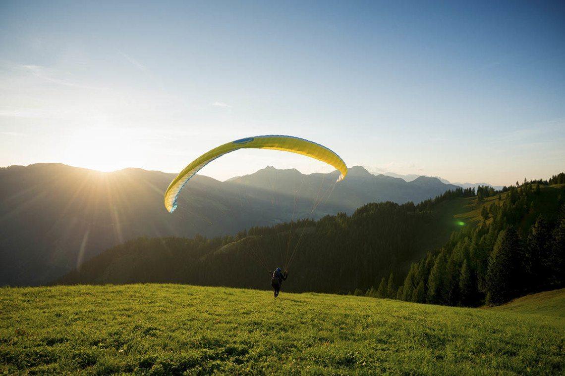 Paragleiten im Großarltal, Salzburger Land