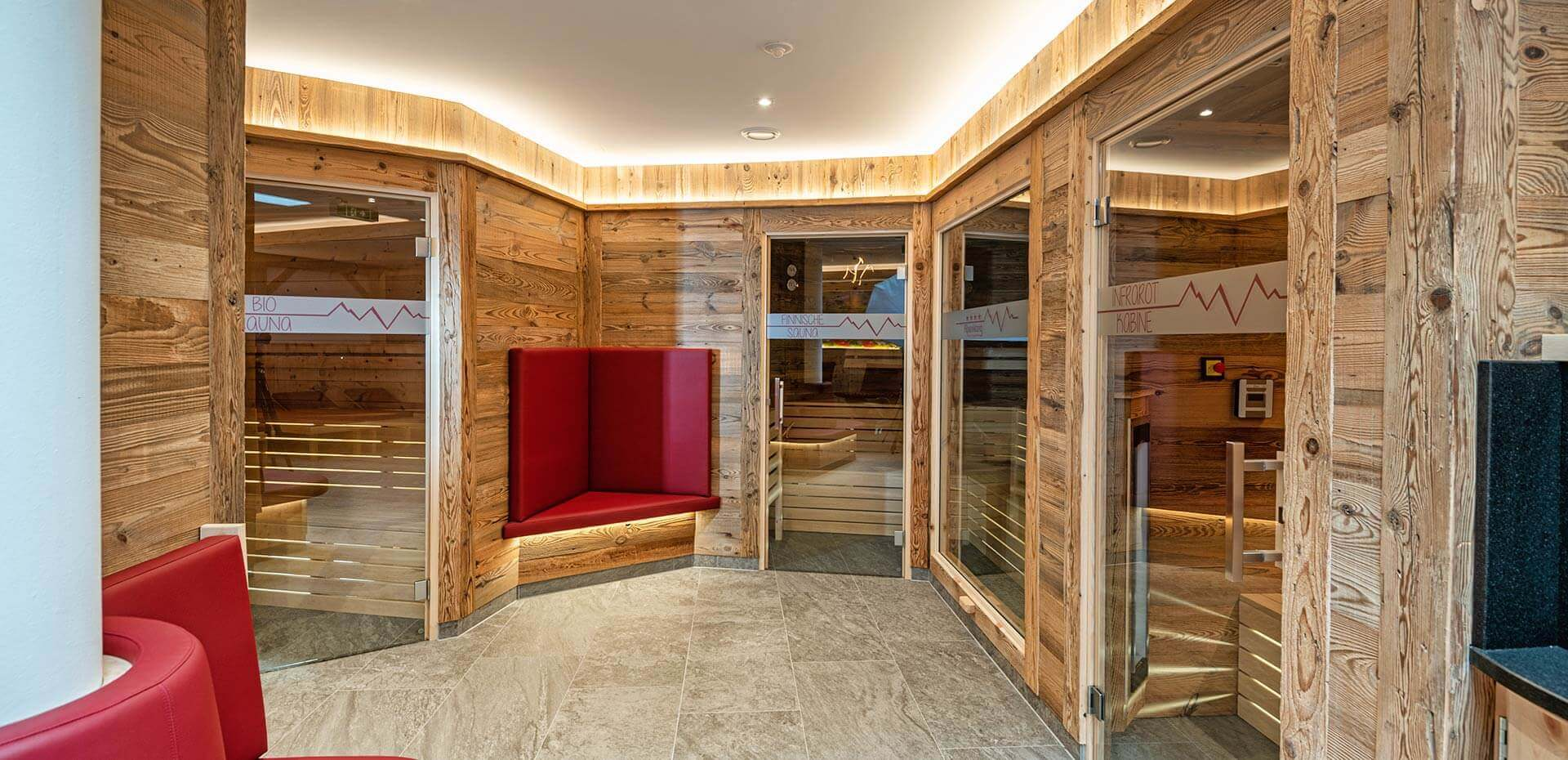 Wellnessbereich - Hotel Alpenklang in Großarl